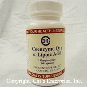 TKE Health - Dr. Chi Enterprises - CoQ10 Alpha Lipoic Acid