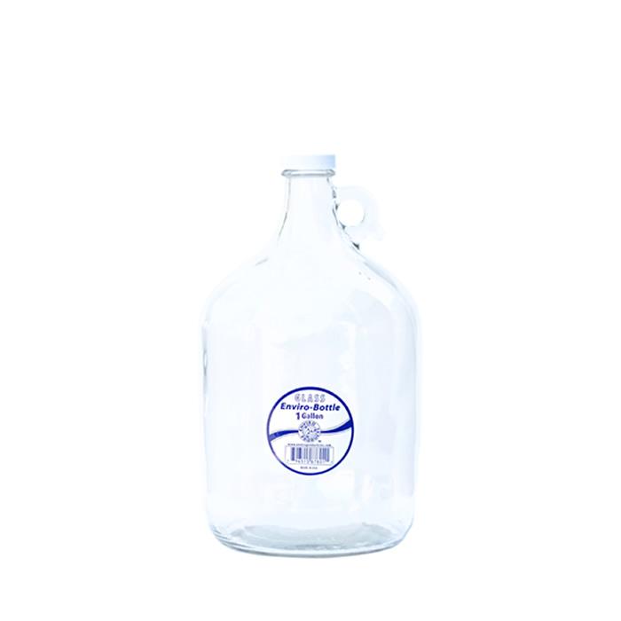 TKE Health - New Wave Enviro - Reusable Water Bottle - 1 Gallon Glass