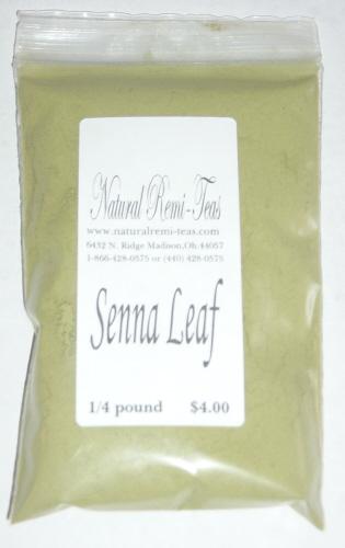 TKE Health - Natural Herbal Teas - Senna Leaf Tea