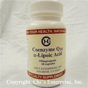 TKE Health - Dr. Chi Enterprises - CoQ10 Alpha Lipoic Acid