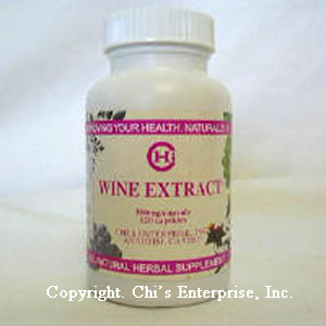 TKE Health - Dr. Chi Enterprises - Wine Extract