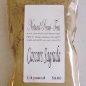 TKE Health - Natural Herbal Teas - Cascara Segrada Beneficos Tea