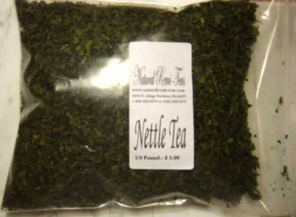 TKE Health - Natural Herbal Teas - Nettle Tea